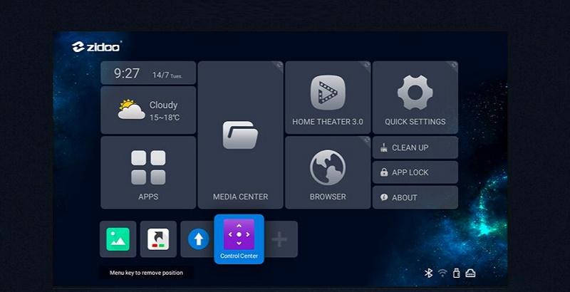 Zidoo Z9X Андроид