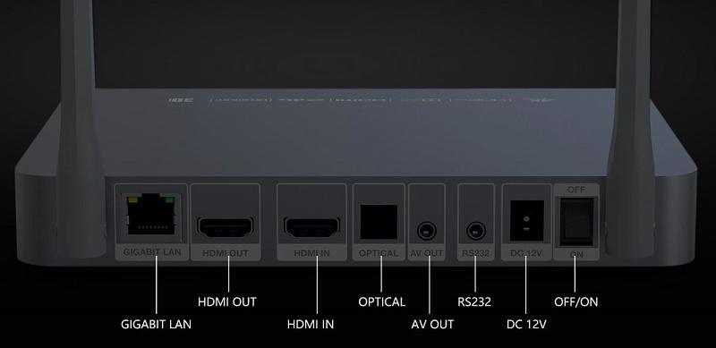 Zidoo Z9X порты